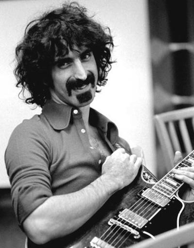 Frank Zappa's Legendary Moustache