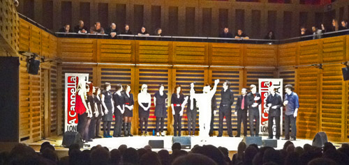 Albert Hera and the London Vocal Project at LACF2012