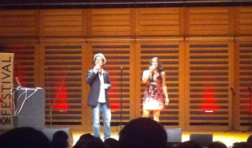 FreePlay Duo at London A Cappella Festival 2012