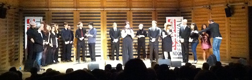 The Swingle Singers Finale at LACF2012
