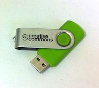 Jonathan Coulton Creative Commons USB Stick