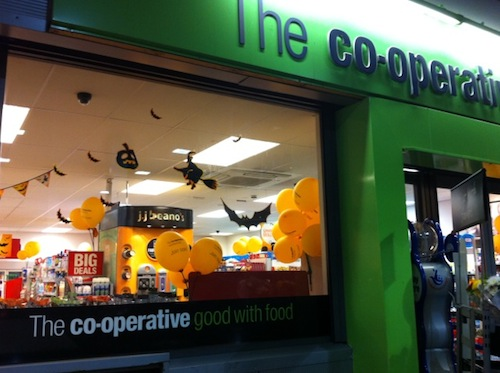 The Co-operative celebrates Halloween well