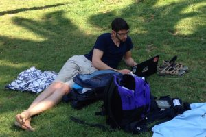 Coding in the park