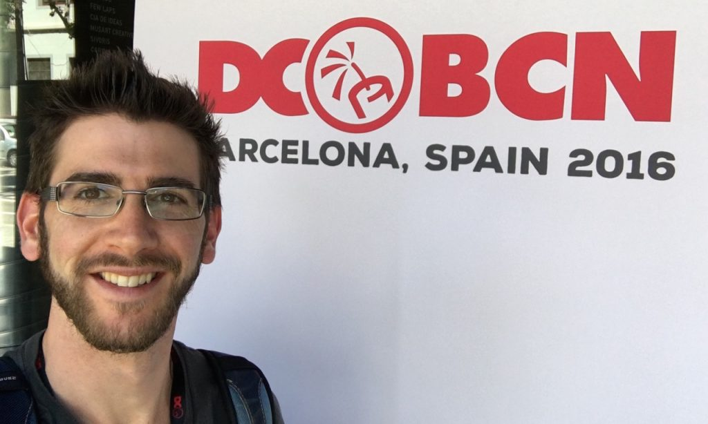 At the DC event in Barcelona this summer